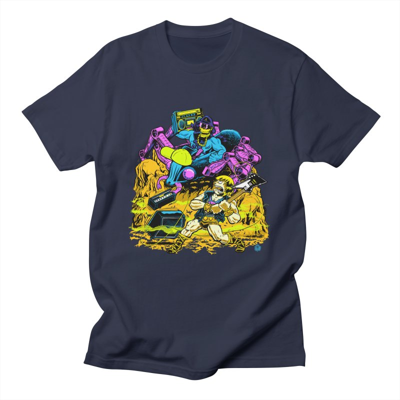 Masters of the Old School Men's T-shirt by Happy Family