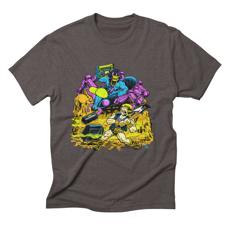 Masters of the Old School Men's Triblend T-Shirt by Happy Family