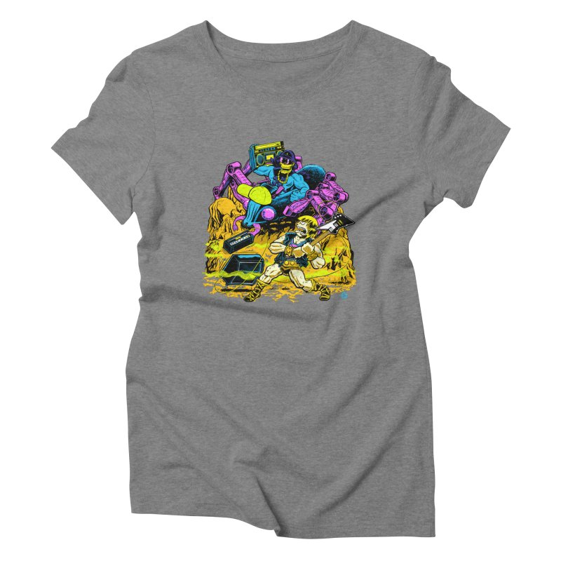 Masters of the Old School Women's Triblend T-shirt by Happy Family