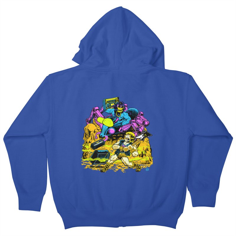 Masters of the Old School Kids Zip-Up Hoody by Happy Family