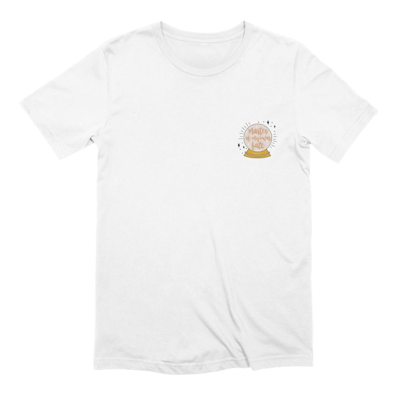 Master of my Fate Men's T-Shirt by Happy You're Here Artist Shop