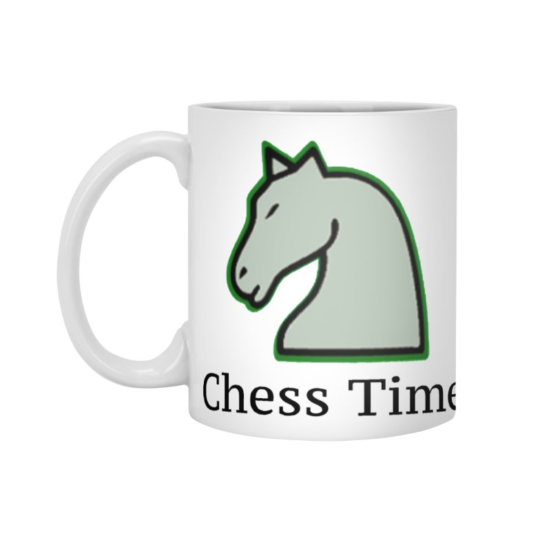 Chess Time Accessories Mug by Chess Time