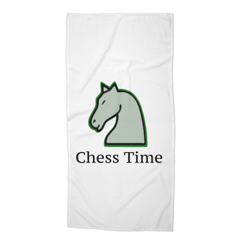 Chess Time Accessories Beach Towel by Chess Time