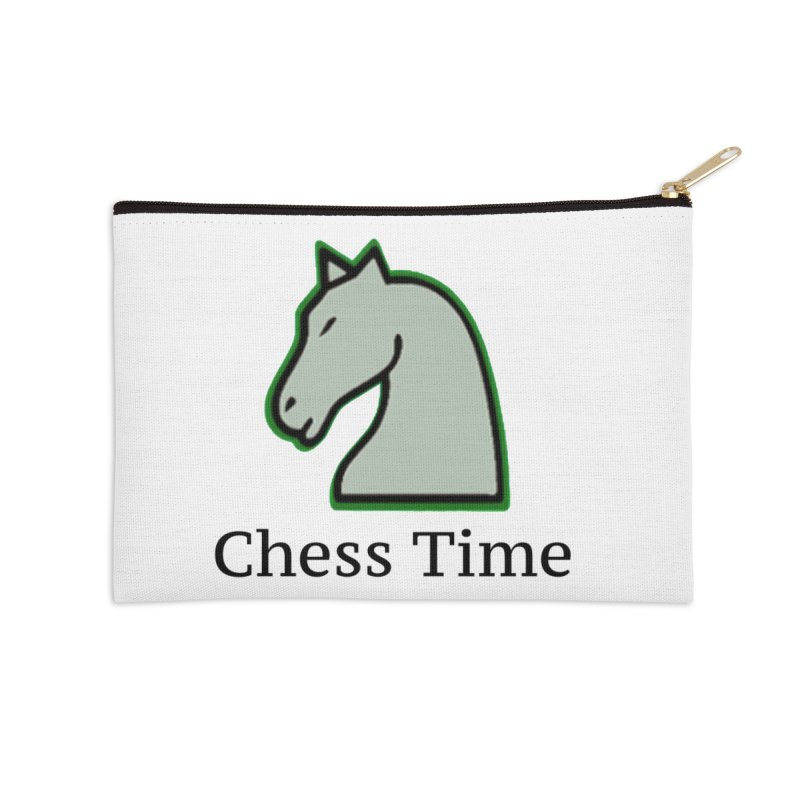 Chess Time Accessories Zip Pouch by Chess Time
