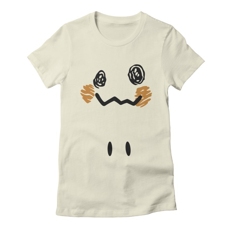 Disguise Women's Fitted T-Shirt by haragos's Artist Shop
