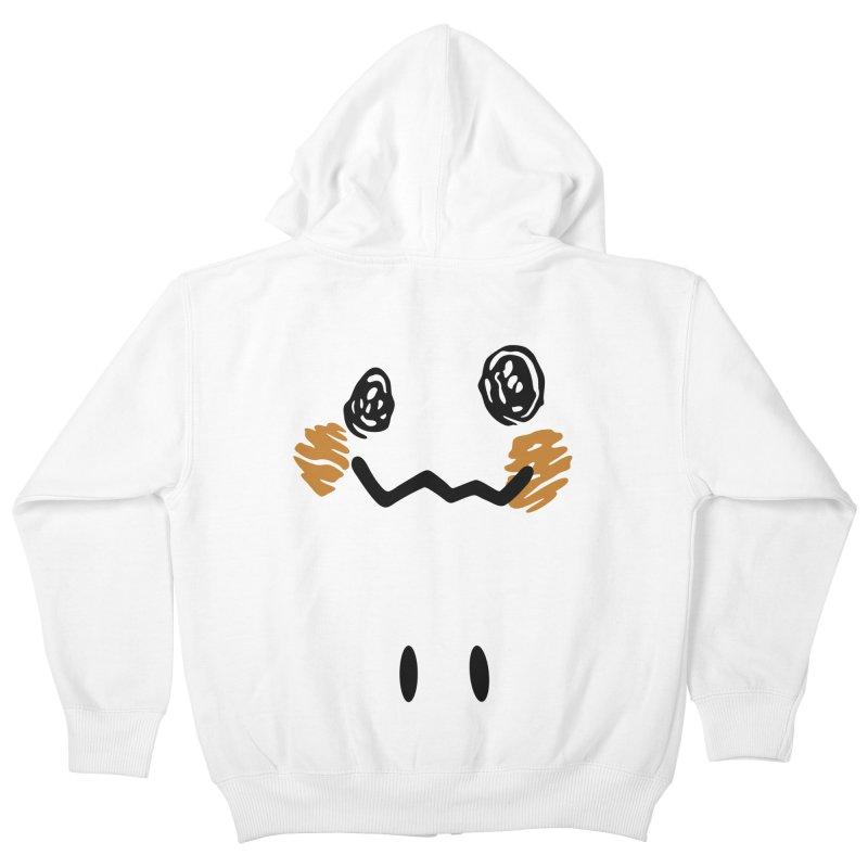 Disguise Kids Zip-Up Hoody by haragos's Artist Shop