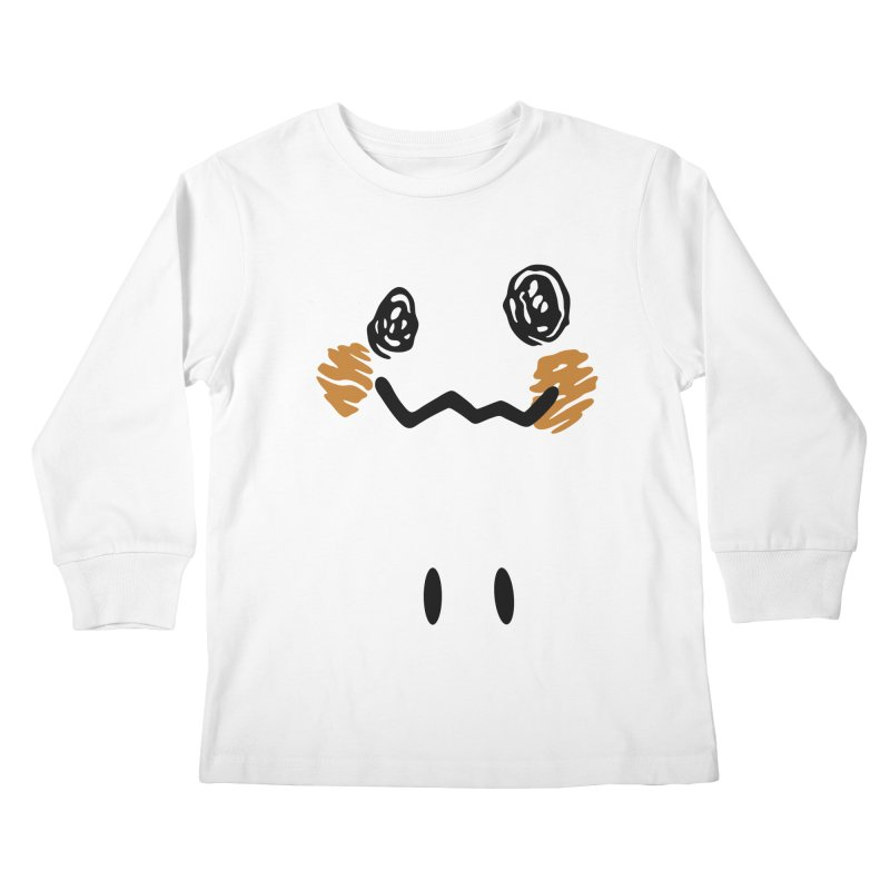 Disguise Kids Longsleeve T-Shirt by haragos's Artist Shop