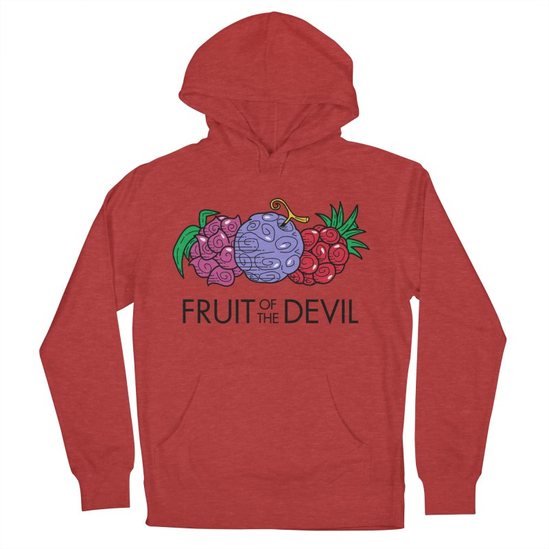 Fruit of the Devil Men's Pullover Hoody by haragos's Artist Shop
