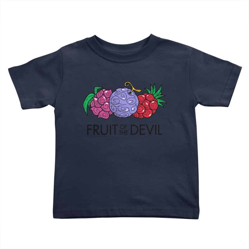 Fruit of the Devil Kids Toddler T-Shirt by haragos's Artist Shop