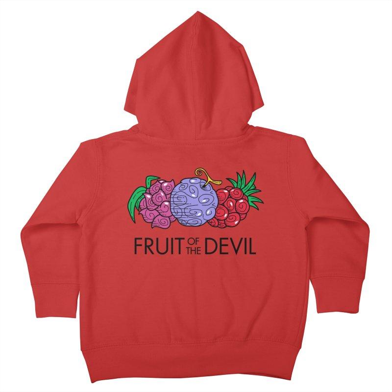 Fruit of the Devil Kids Toddler Zip-Up Hoody by haragos's Artist Shop