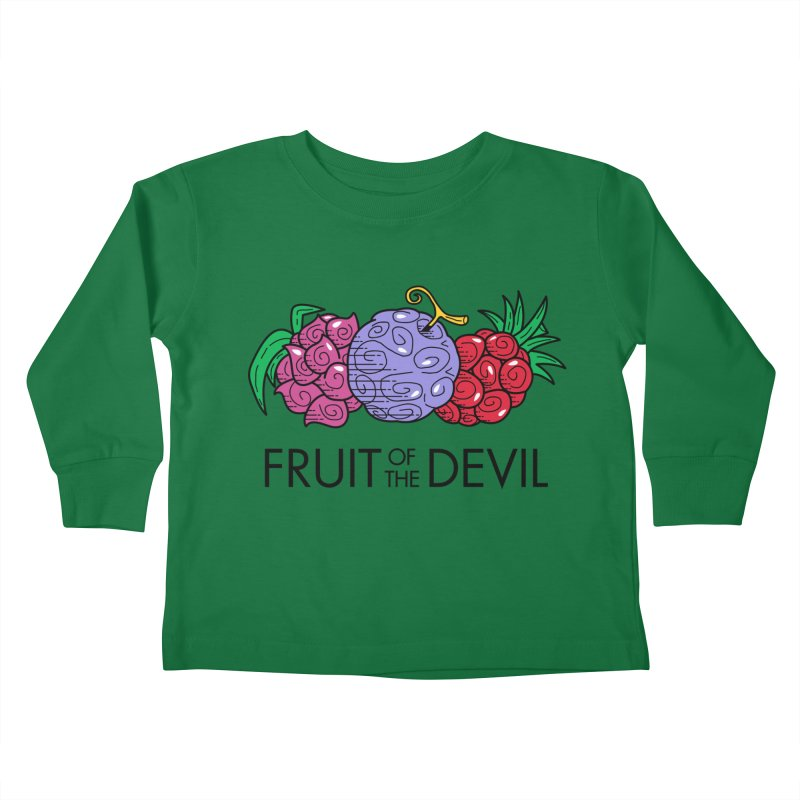 Fruit of the Devil Kids Toddler Longsleeve T-Shirt by haragos's Artist Shop