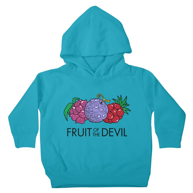 Fruit of the Devil Kids Toddler Pullover Hoody by haragos's Artist Shop