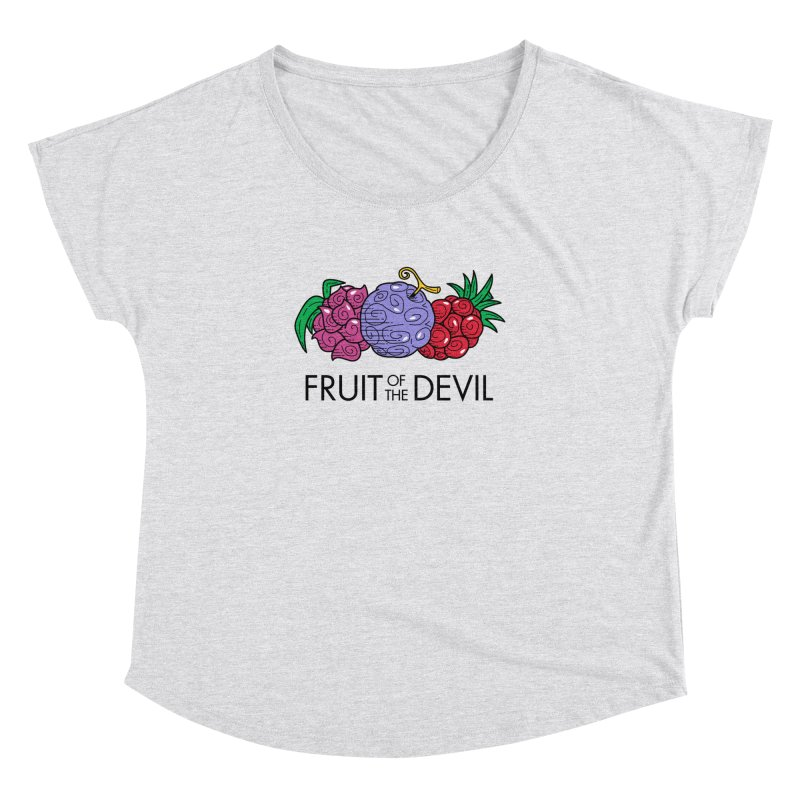 Fruit of the Devil Women's Dolman by haragos's Artist Shop