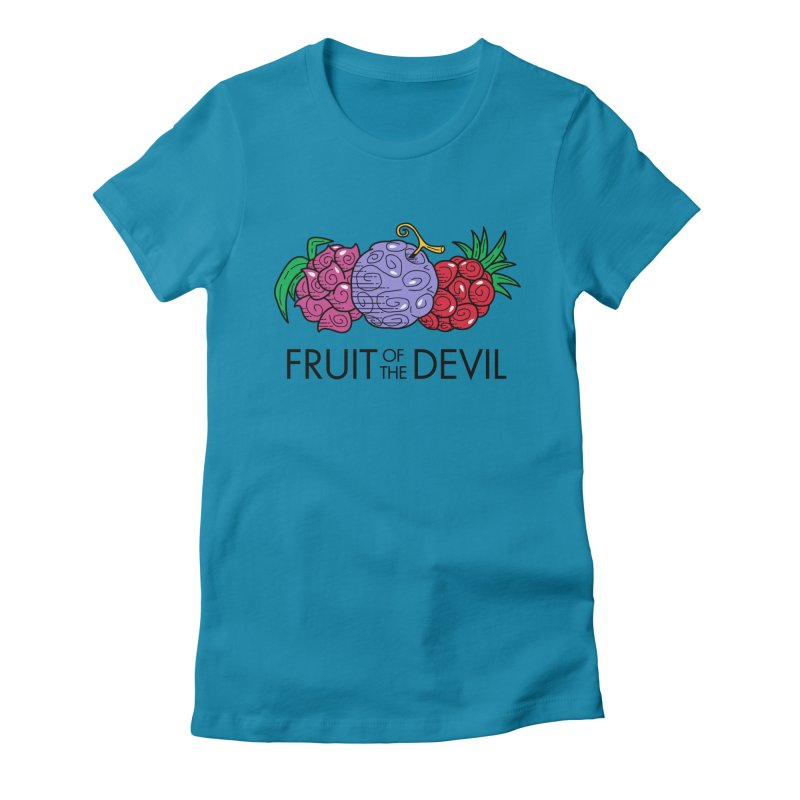 Fruit of the Devil Women's Fitted T-Shirt by haragos's Artist Shop