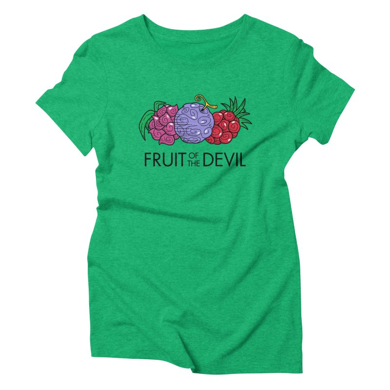 Fruit of the Devil Women's Triblend T-Shirt by haragos's Artist Shop
