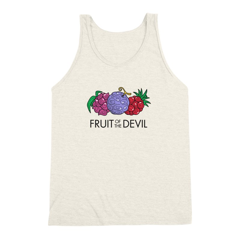 Fruit of the Devil Men's Triblend Tank by haragos's Artist Shop