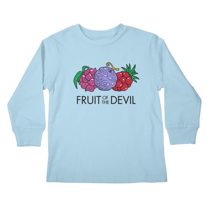 Fruit of the Devil Kids Longsleeve T-Shirt by haragos's Artist Shop