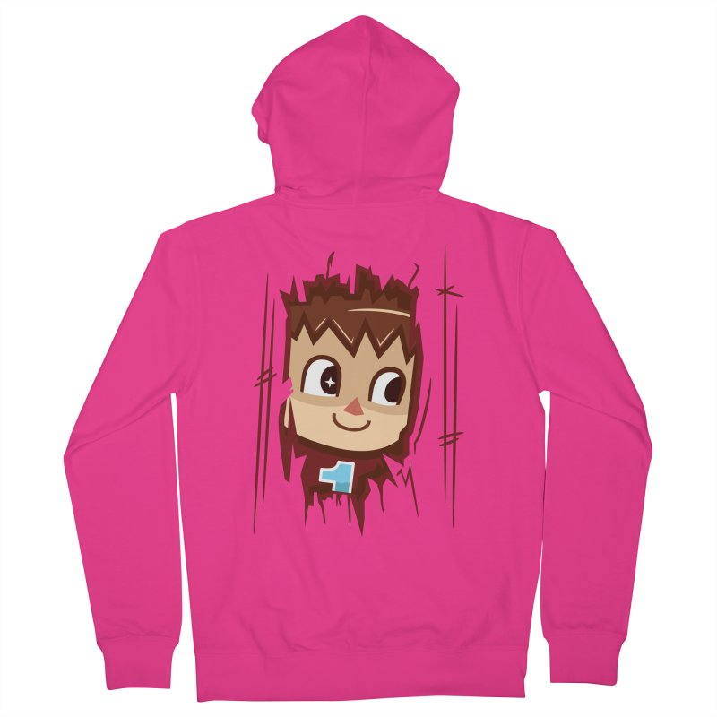 HEEEEERE'S.... THE VILLAGER! Men's Zip-Up Hoody by haragos's Artist Shop
