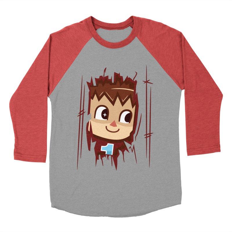 HEEEEERE'S.... THE VILLAGER! Women's Baseball Triblend T-Shirt by haragos's Artist Shop