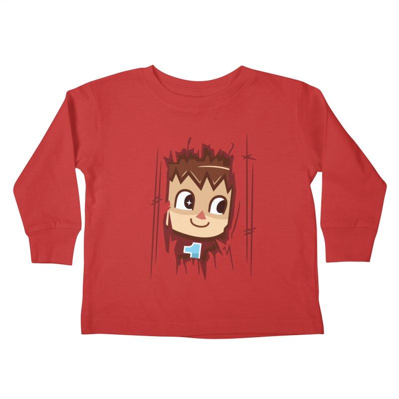 HEEEEERE'S.... THE VILLAGER! Kids Toddler Longsleeve T-Shirt by haragos's Artist Shop