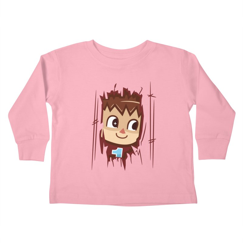 HEEEEERE'S.... THE VILLAGER! Kids Toddler Longsleeve T-Shirt by haragos's Artist Shop