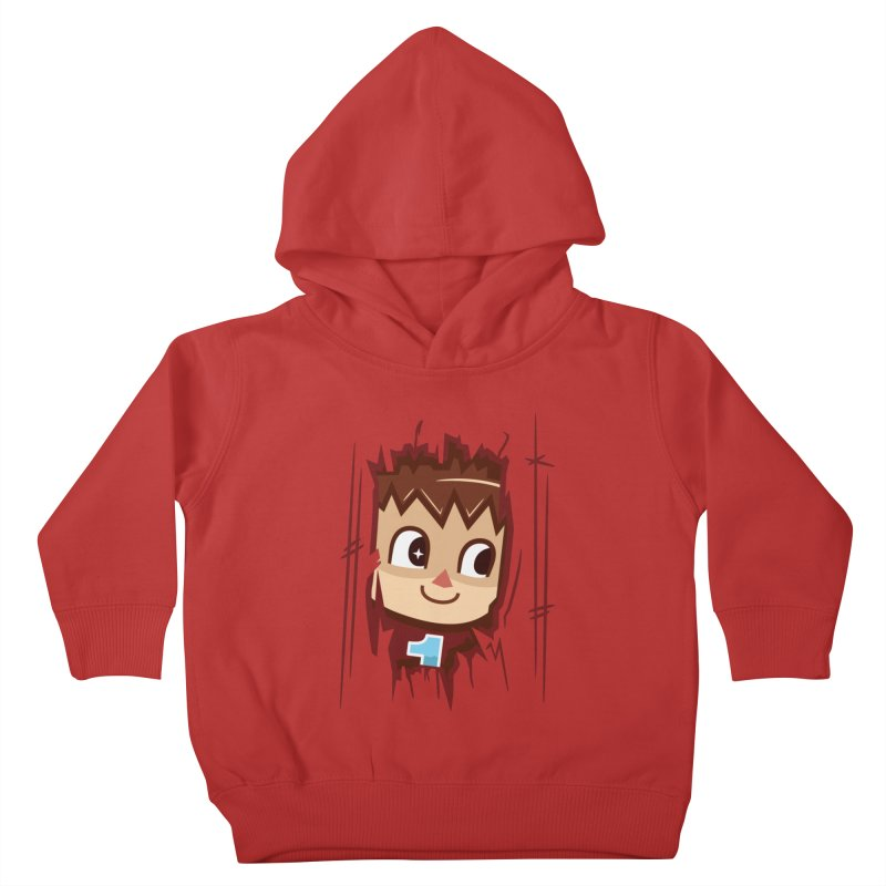 HEEEEERE'S.... THE VILLAGER! Kids Toddler Pullover Hoody by haragos's Artist Shop