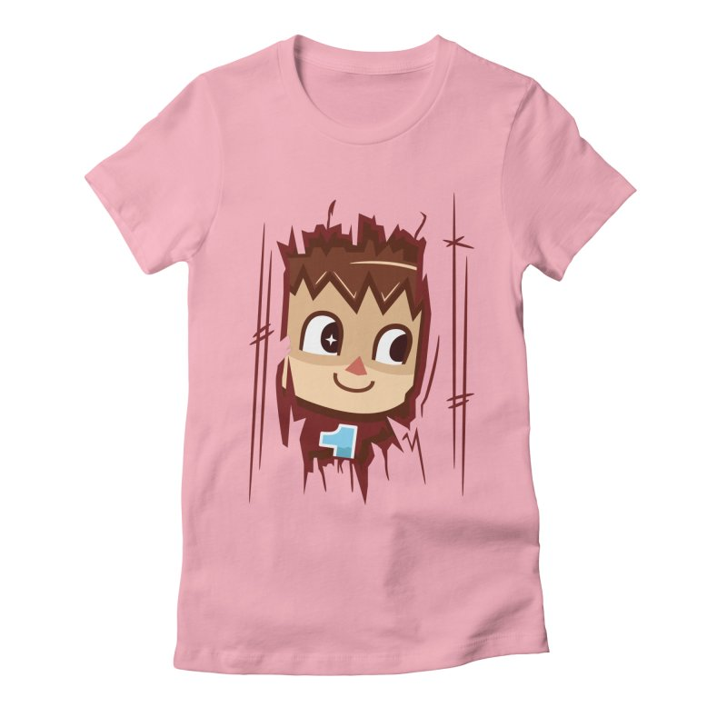 HEEEEERE'S.... THE VILLAGER! Women's Fitted T-Shirt by haragos's Artist Shop