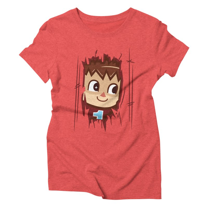 HEEEEERE'S.... THE VILLAGER! Women's Triblend T-Shirt by haragos's Artist Shop