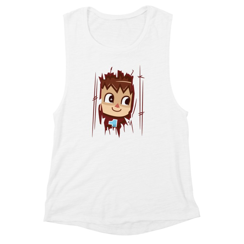 HEEEEERE'S.... THE VILLAGER! Women's Muscle Tank by haragos's Artist Shop
