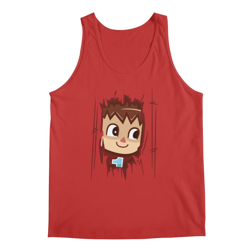 HEEEEERE'S.... THE VILLAGER! Men's Tank by haragos's Artist Shop