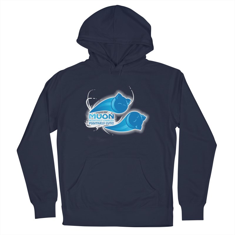 Muon! Men's French Terry Pullover Hoody by harbingerdesigns's Artist Shop