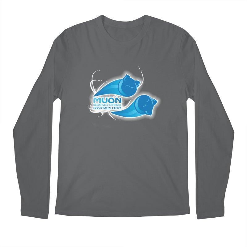 Muon! Men's Regular Longsleeve T-Shirt by harbingerdesigns's Artist Shop