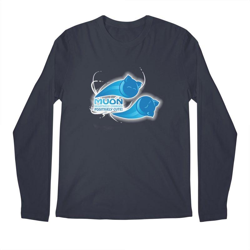 Muon! Men's Longsleeve T-Shirt by harbingerdesigns's Artist Shop