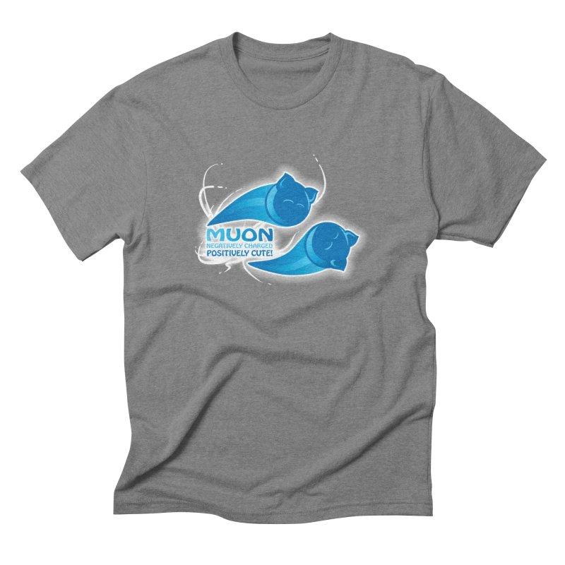 Muon! Men's Triblend T-Shirt by harbingerdesigns's Artist Shop