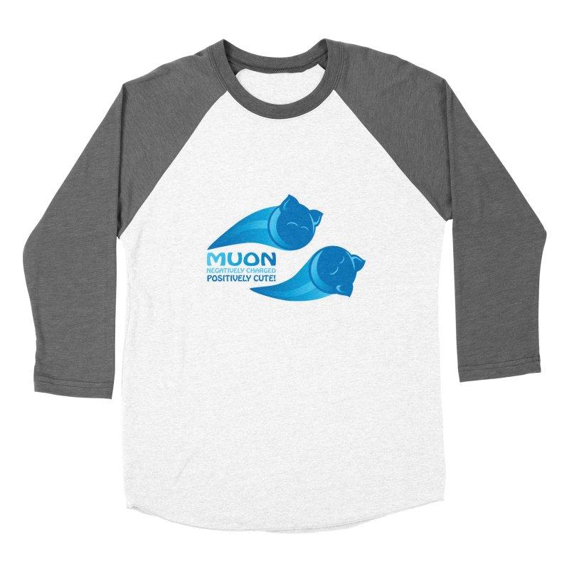 Muon! Men's Baseball Triblend T-Shirt by harbingerdesigns's Artist Shop