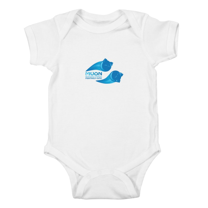 Muon! Kids Baby Bodysuit by harbingerdesigns's Artist Shop