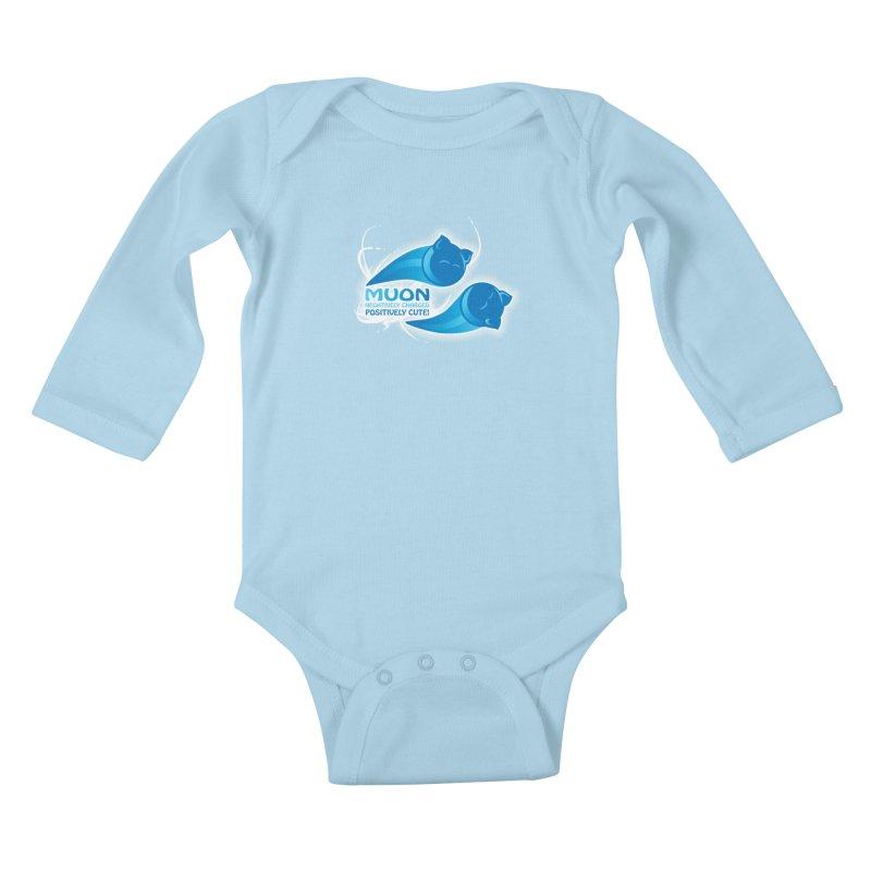 Muon! Kids Baby Longsleeve Bodysuit by harbingerdesigns's Artist Shop