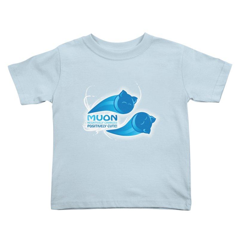 Muon! Kids Toddler T-Shirt by harbingerdesigns's Artist Shop