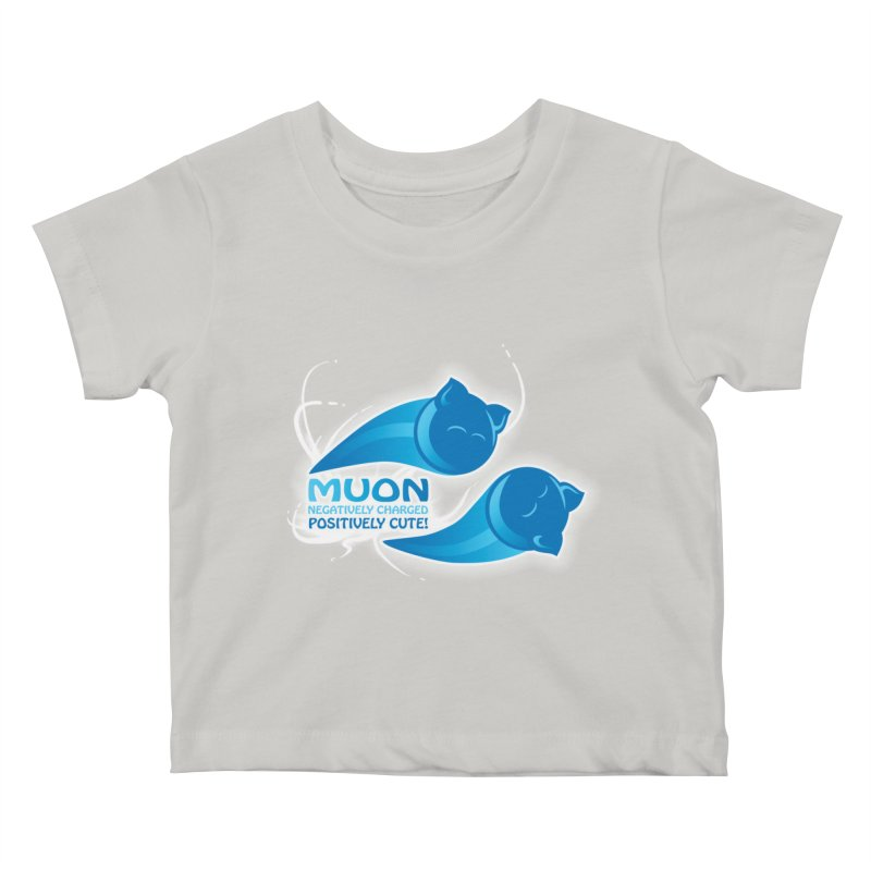 Muon! Kids Baby T-Shirt by harbingerdesigns's Artist Shop