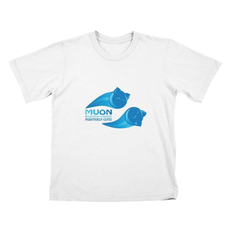 Muon! Kids T-shirt by harbingerdesigns's Artist Shop