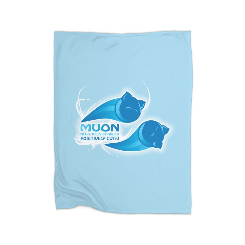 Muon! Home Blanket by harbingerdesigns's Artist Shop