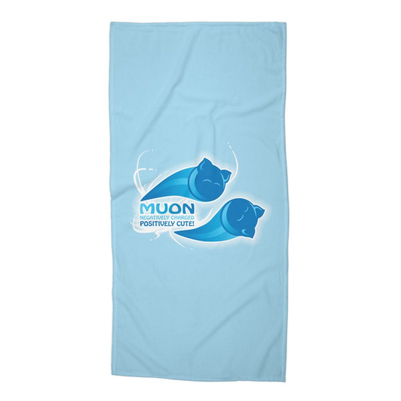 Muon! Accessories Beach Towel by harbingerdesigns's Artist Shop