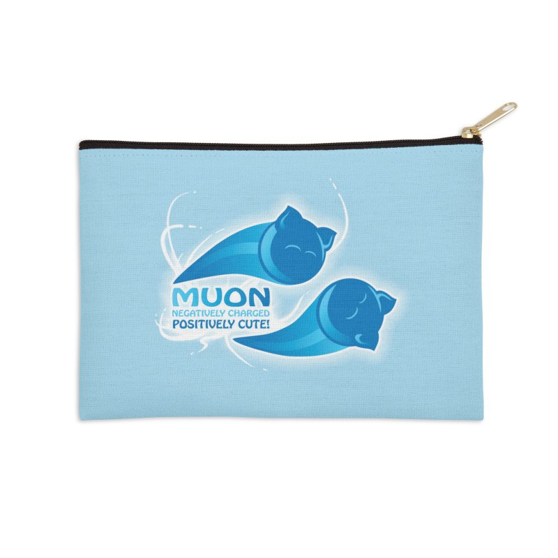 Muon! Accessories Zip Pouch by harbingerdesigns's Artist Shop