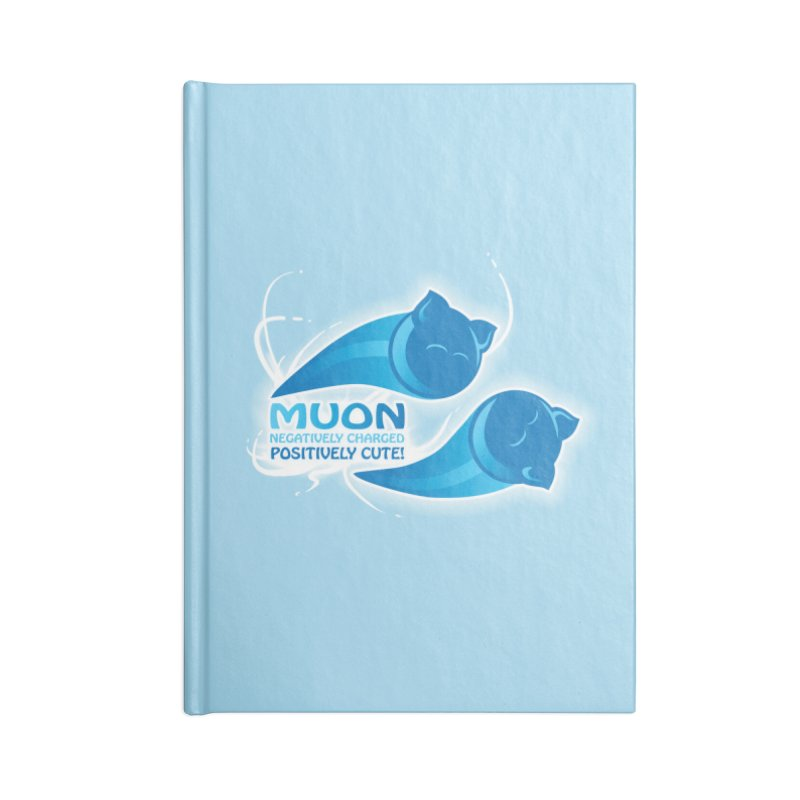 Muon! Accessories Blank Journal Notebook by harbingerdesigns's Artist Shop