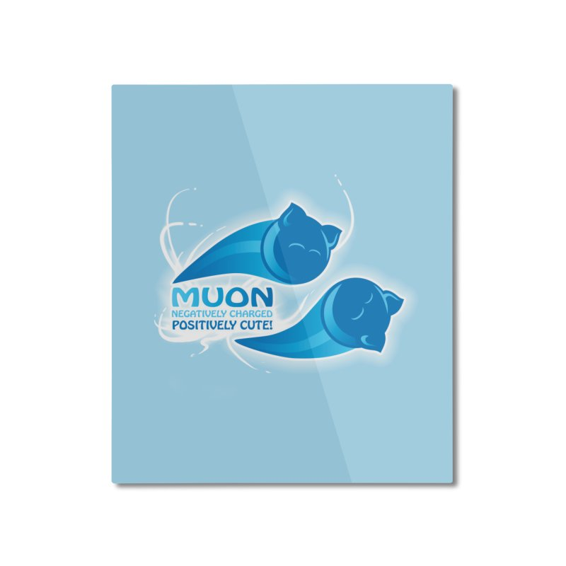 Muon! Home Mounted Aluminum Print by harbingerdesigns's Artist Shop