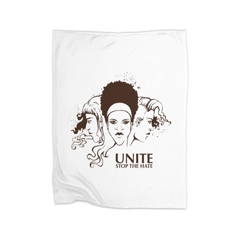 Unite Home Blanket by harbingerdesigns's Artist Shop