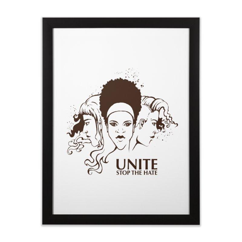 Unite Home Framed Fine Art Print by harbingerdesigns's Artist Shop