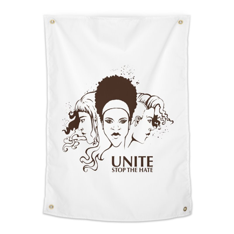 Unite Home Tapestry by harbingerdesigns's Artist Shop