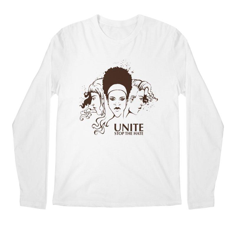 Unite Men's Regular Longsleeve T-Shirt by harbingerdesigns's Artist Shop