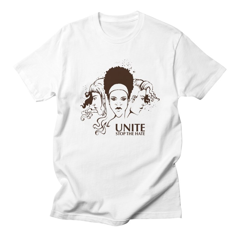 Unite Women's Unisex T-Shirt by harbingerdesigns's Artist Shop
